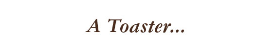 à toaster